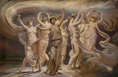 Elihu Vedder, The Pleiades (1885)