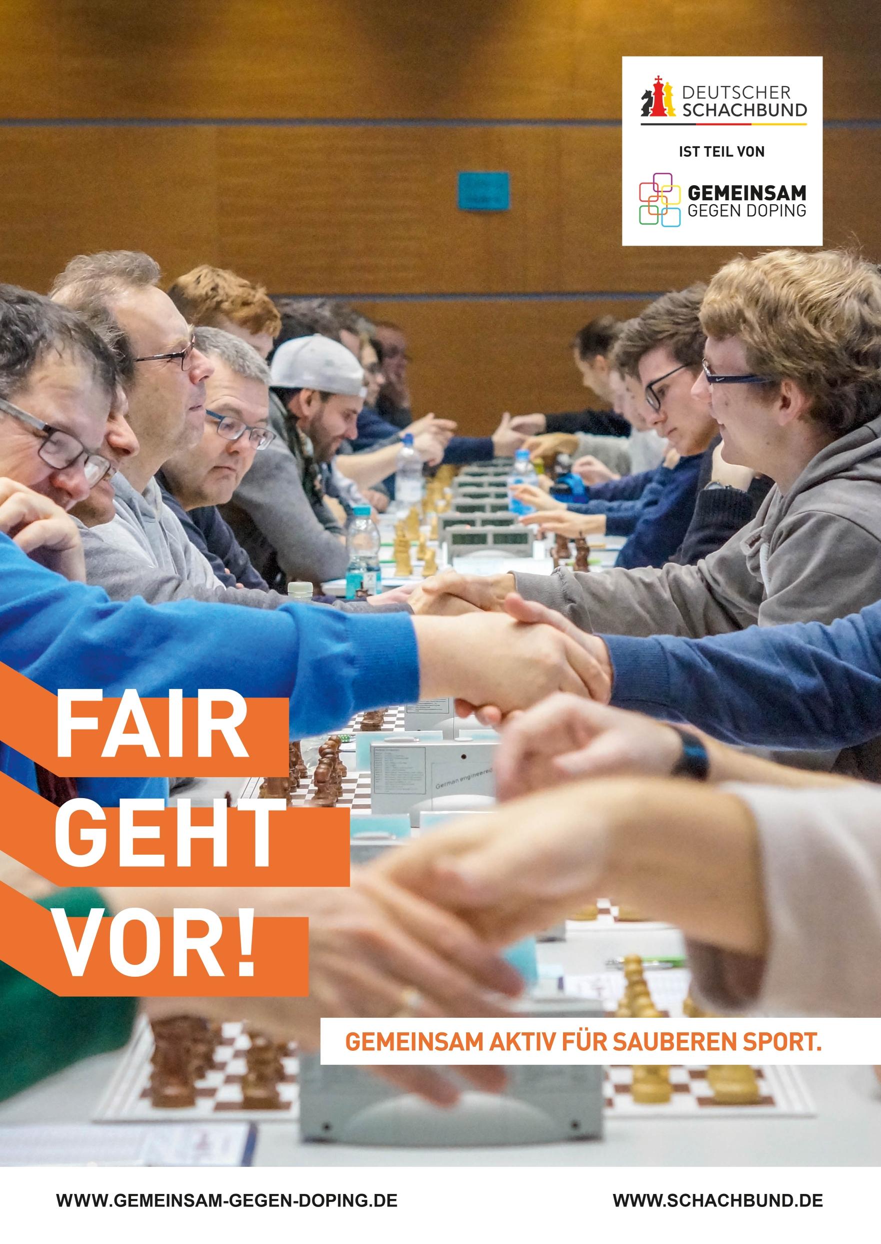 Anti-Doping - Deutscher Schachbund - Schach in Deutschland
