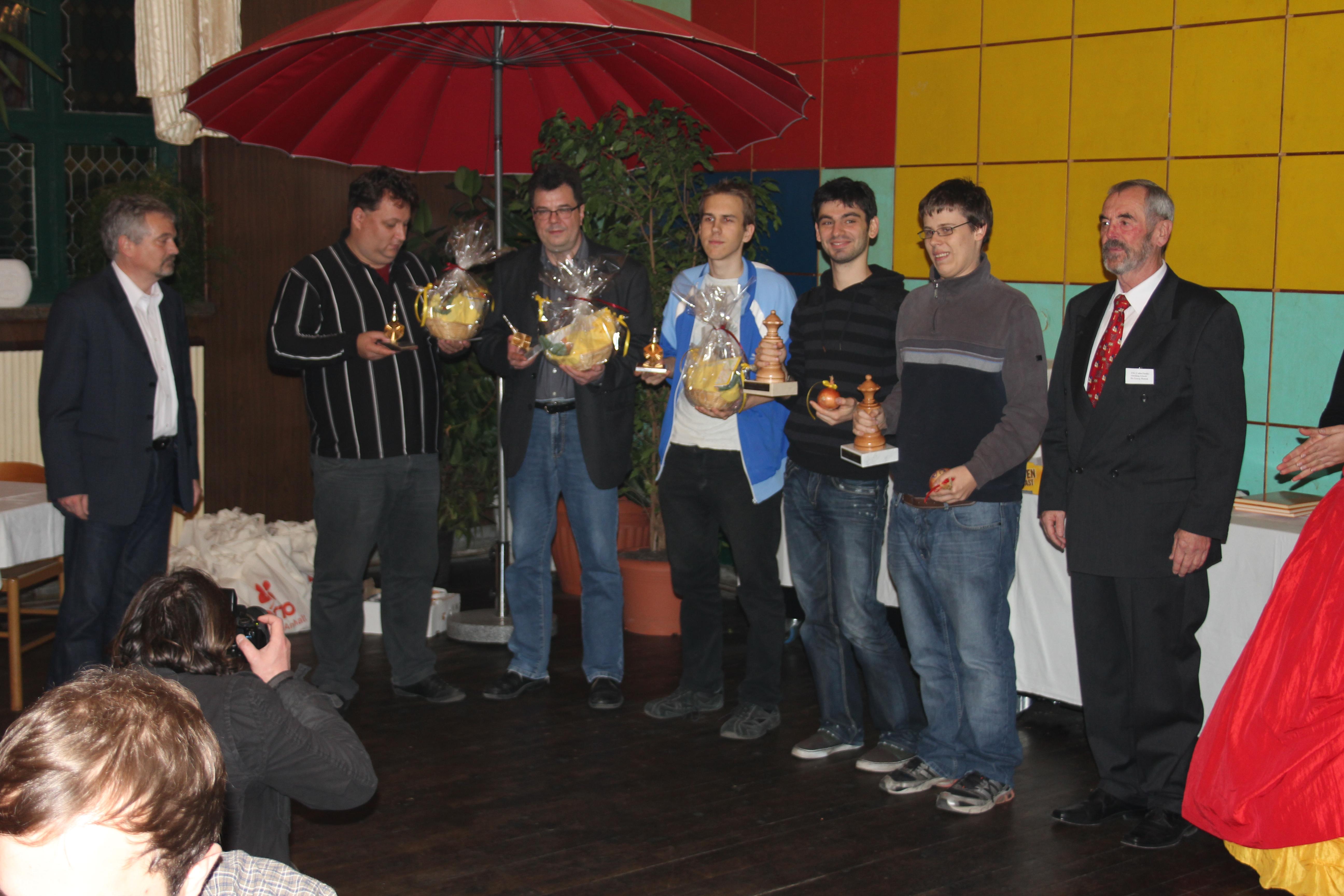 38 Deutsche Meisterschaft Im Blitzschach 2011 In Calbe Saale