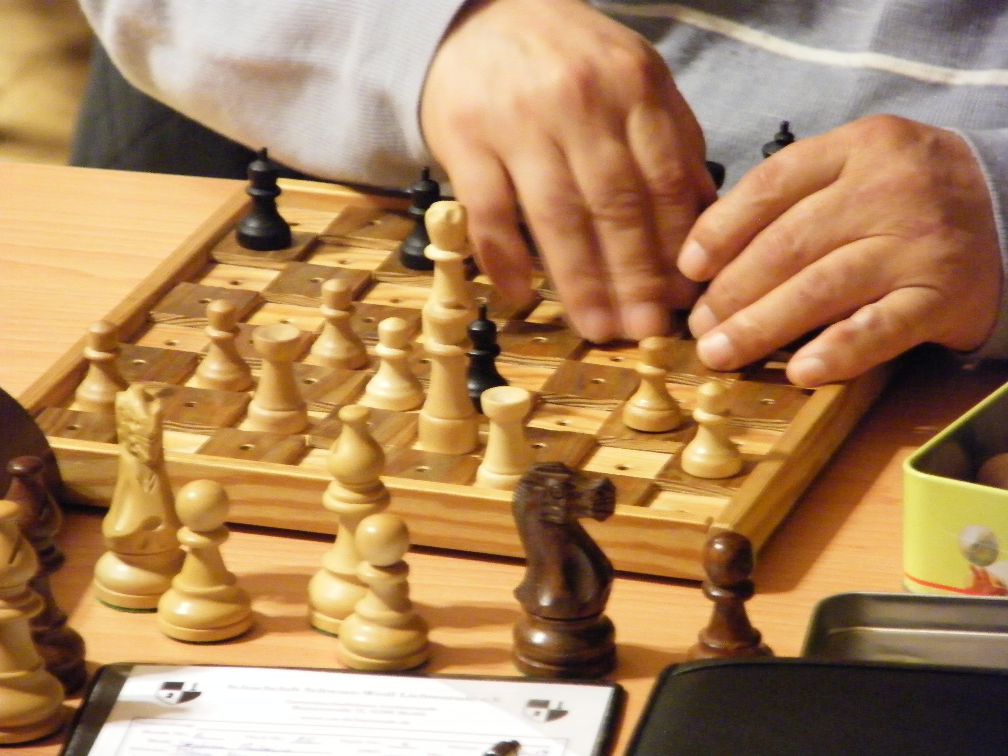 Schach Regel