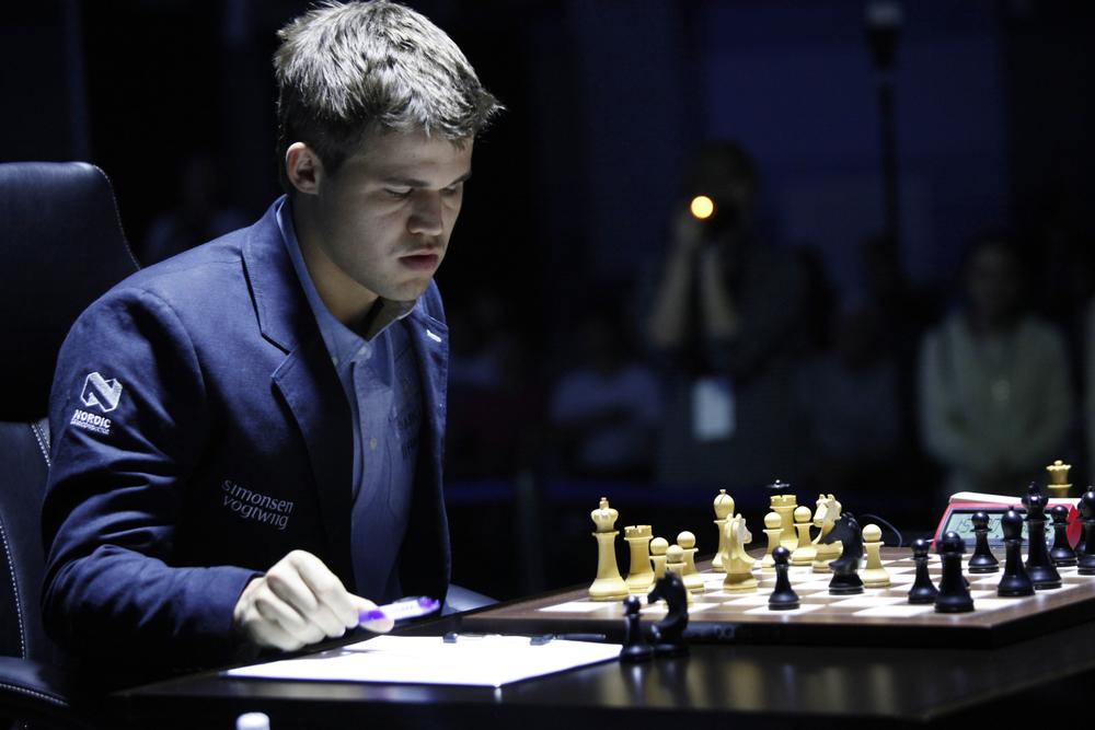 Schach Carlsen
