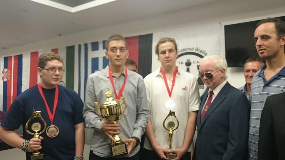 3. Platz bei den Jugendeuropameisteschaften (Copyright IBCA)
